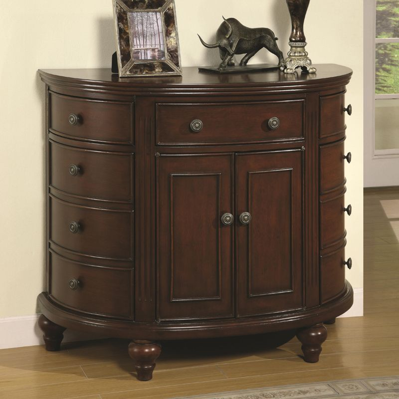 Accent Cabninets And Chests | Coaster Fine Furniture Accent Cabinets  Demilune Accent Cabinet