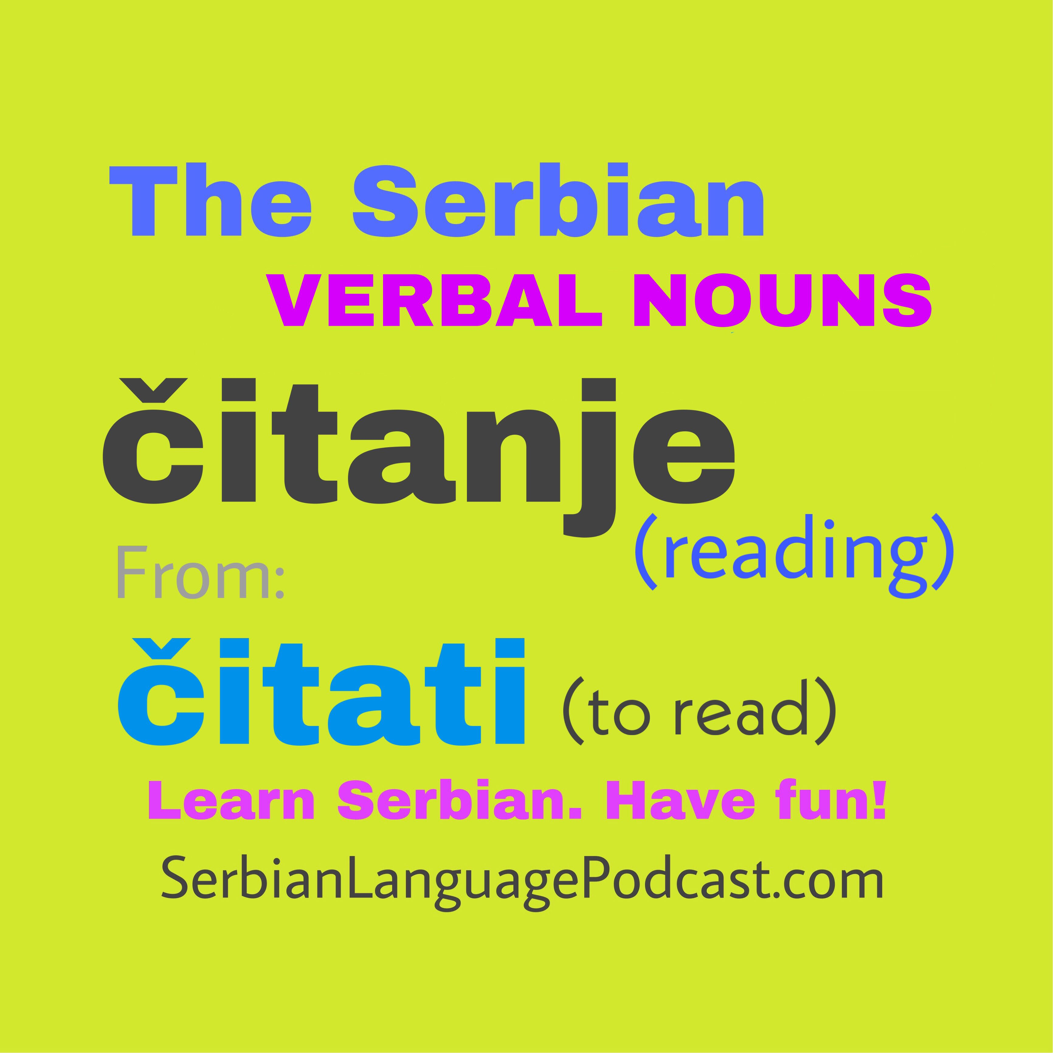 Pin By Serbian Language Podcast On Serbian Grammar