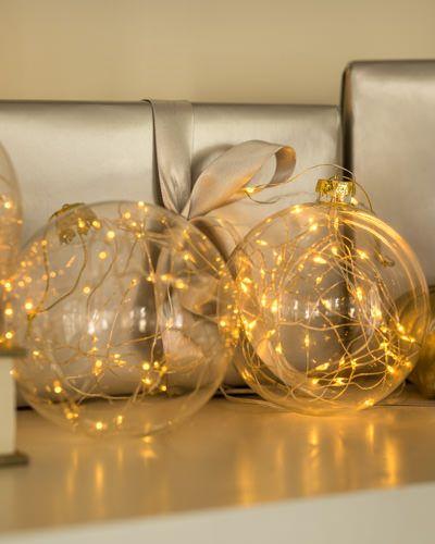 huge discount 5ea8b d863e LED Fairy Light Ornaments, Set of 3 | christmas | Led fairy ...