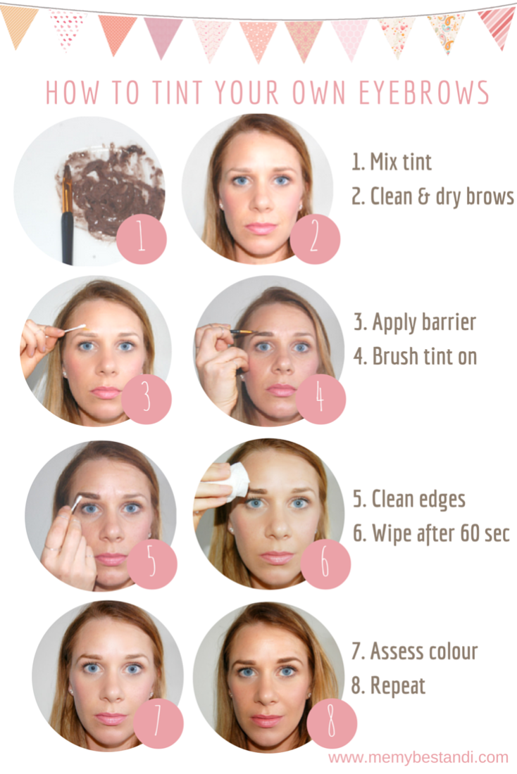 How To Tint Your Own Eyebrows At Home And Save Up To 90 Of The