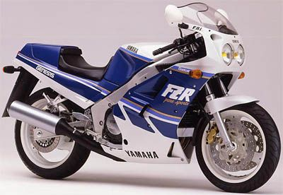 Yamaha FZR1000 Genesis 1987. Excellent bike and very very quick in its day. I did over 40K miles on my 87 model. Gearboxes were a little fragile though.