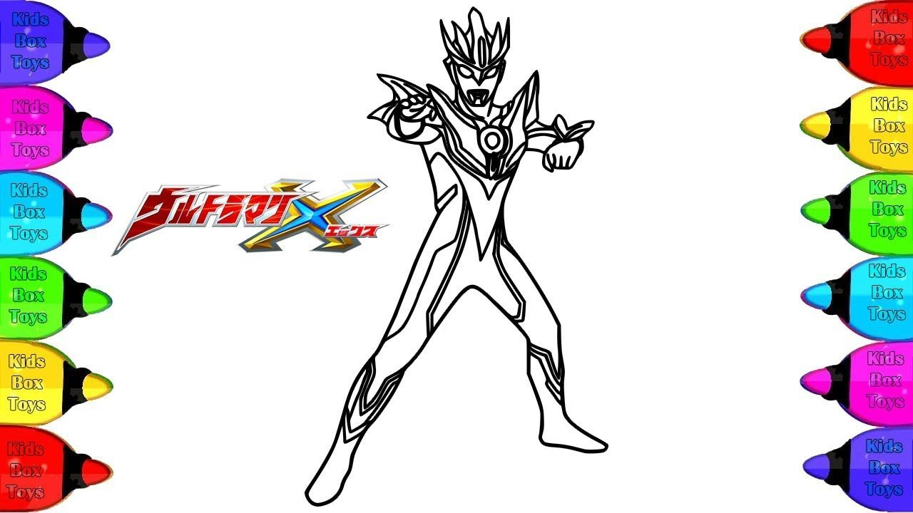 Ultraman Berserker Coloring Pages Ultraman Berserker Coloring Book Ho Youtube Cards Drawings