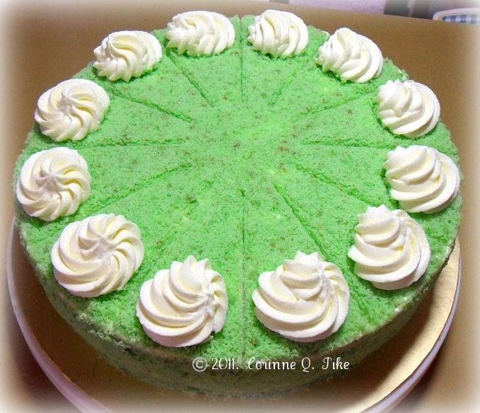 Filipino Buko Pandan Cake Recipe
