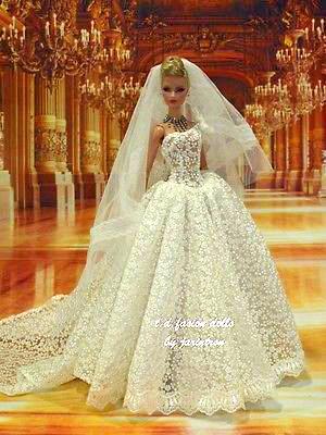 Barbie Mariée, Jolies Robes, Mode Urbaine, Aiguilles, Robe De, Tricot, Robe  De Mariée Barbie, Vêtements Barbie, Collection Barbie