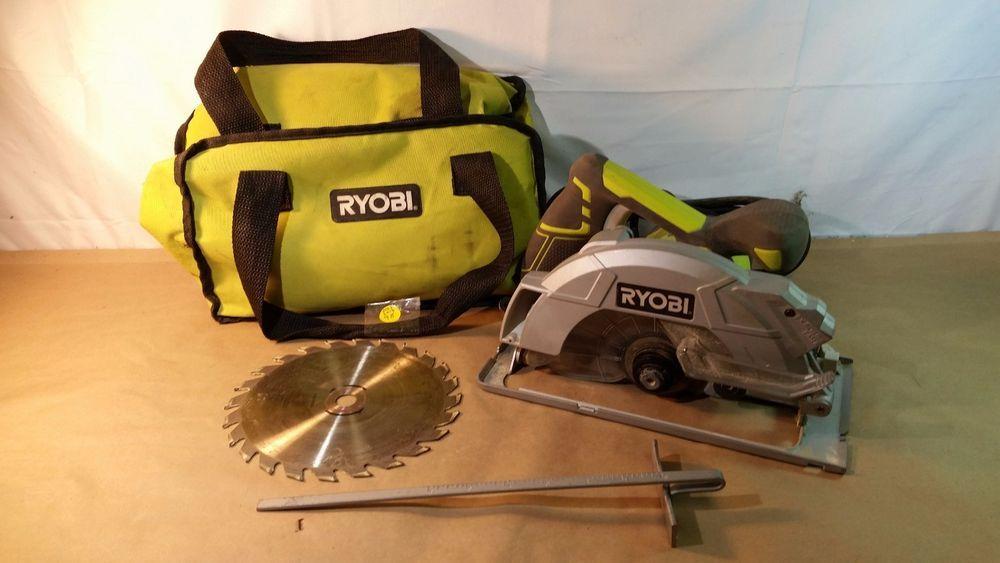 "Ryobi CSB144LZ 7-1/4"" circular saw, Home Improvement 01242017.98 #Ryobi"