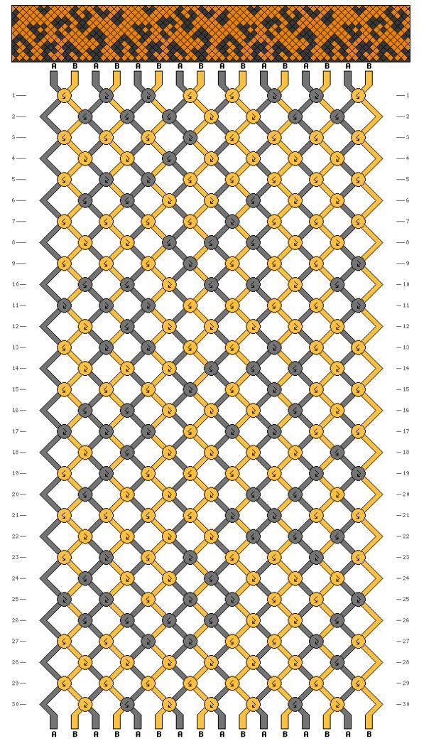 Leopard print | Pulseras | Macramé, Patrones de pulsera y Patrones