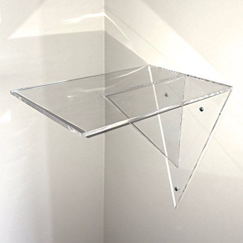 Awe Inspiring Clear Acrylic Floating Shelf Display Shelf Wall Mounte Download Free Architecture Designs Embacsunscenecom