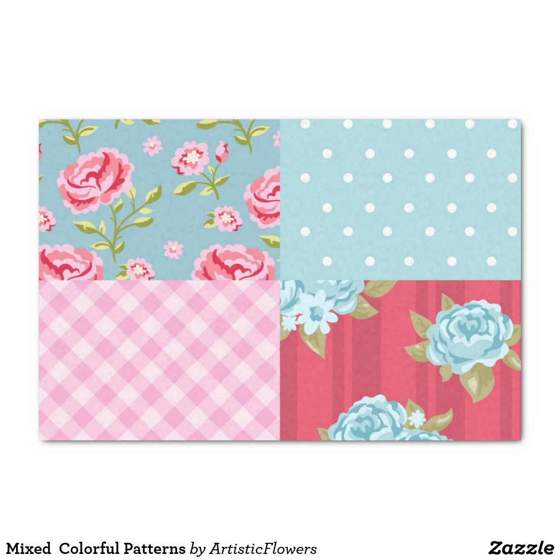 Colorful Designs Tissue Paper Zazzle Com With Images