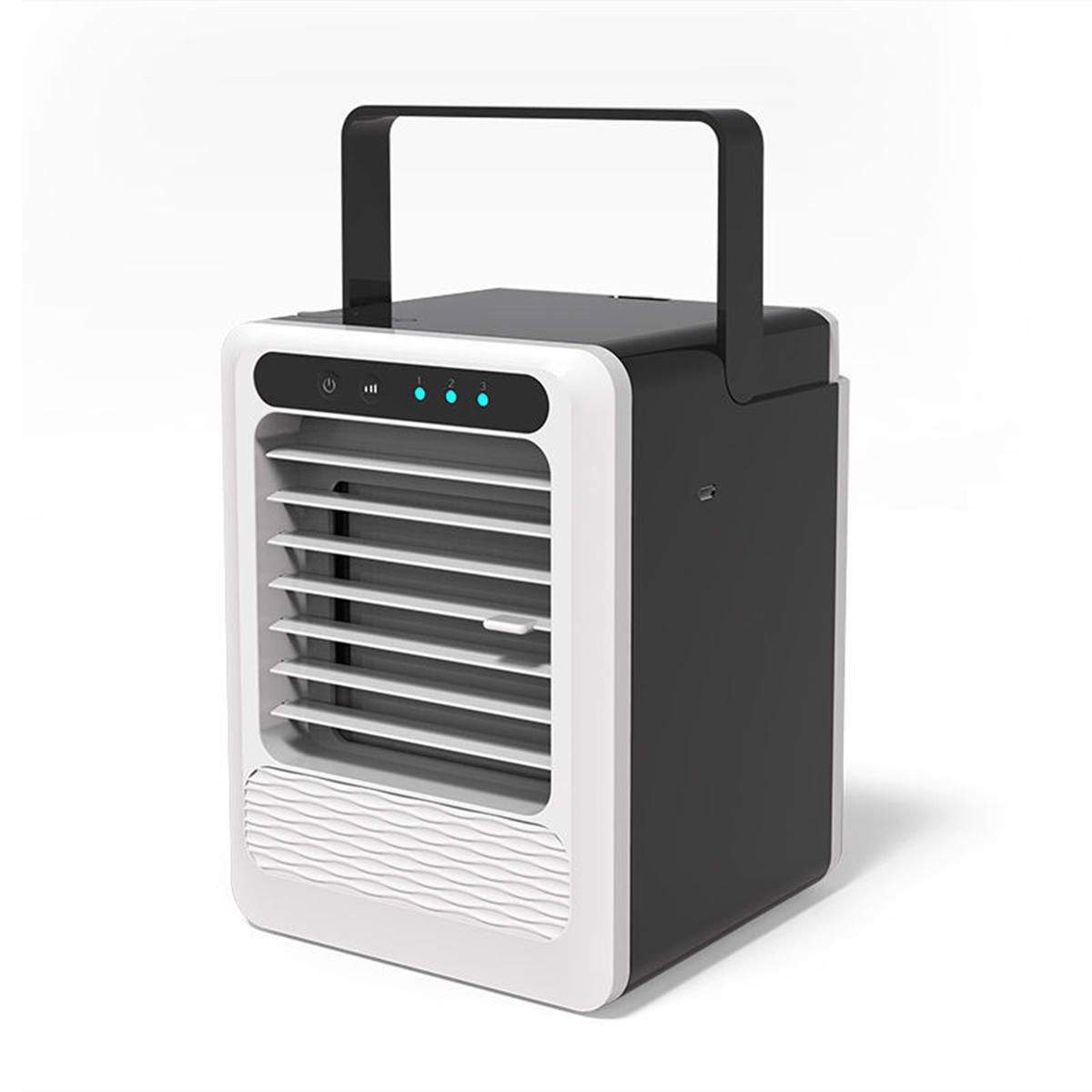 3 Speeds Personal Air Cooler Moisturizing Portable Air Conditioner