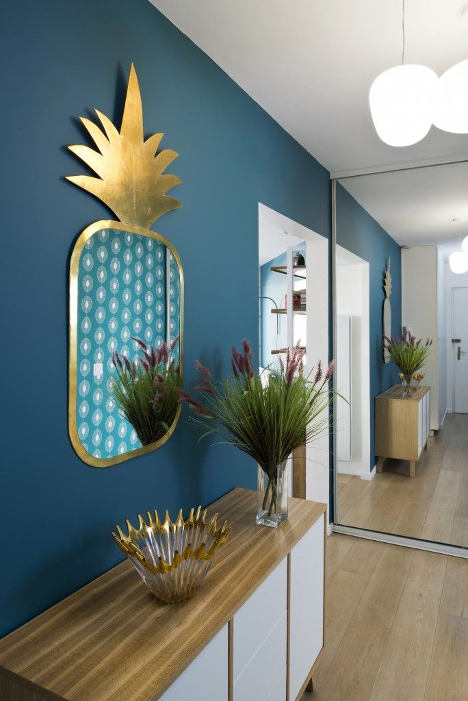 Miroir Ananas Deco Mur Deco Deco Appartement