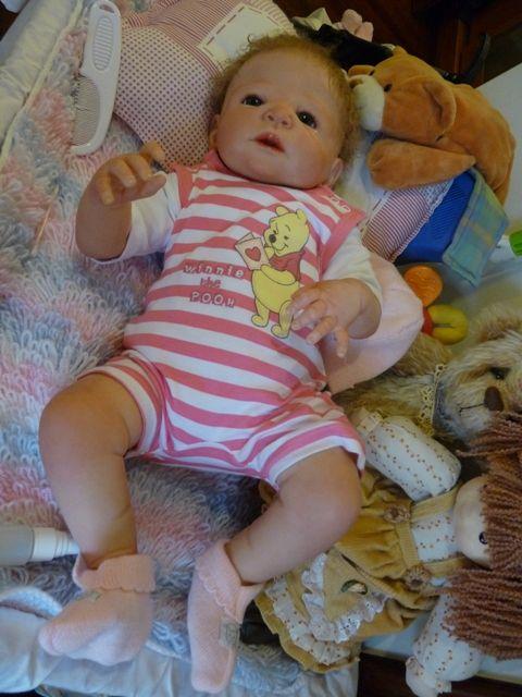 Reborn Baby Girl Victoria Prototipos