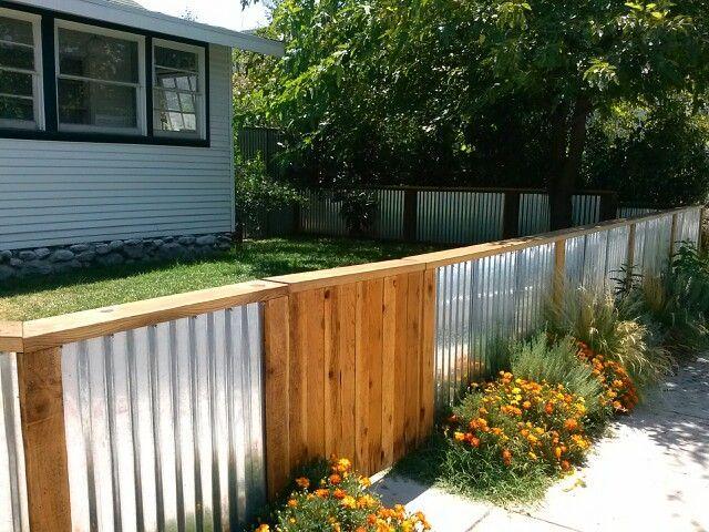 Corregated Metal Fence Bing Images
