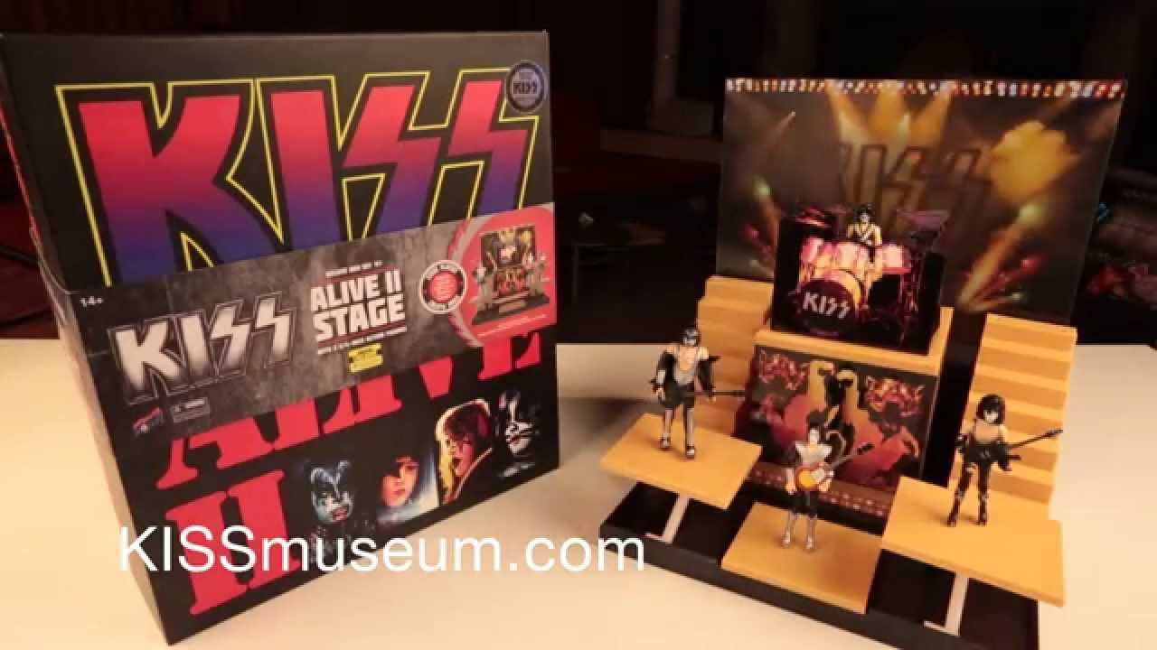 Kiss Alive Ii Stage Deluxe Box Set Unboxing Youtube Boxset