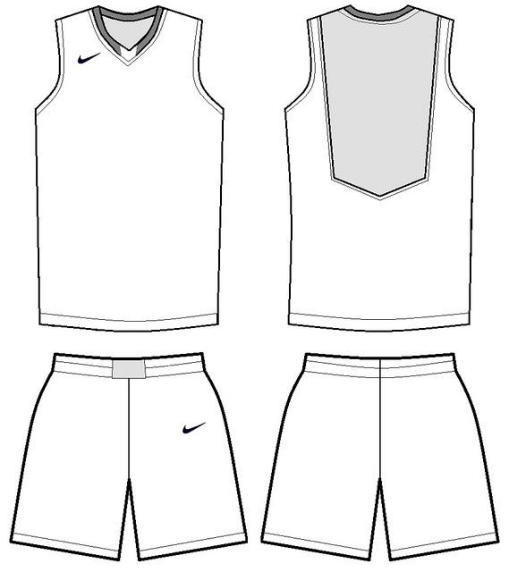 Blank Basketball Uniform Template 3 Templates Example Templates Example Di 2020 Pejuang