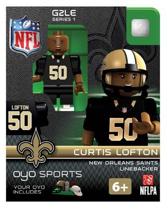 50 Curtis Lofton New Orleans Saints Linebacker-Limited Edition OYO ...