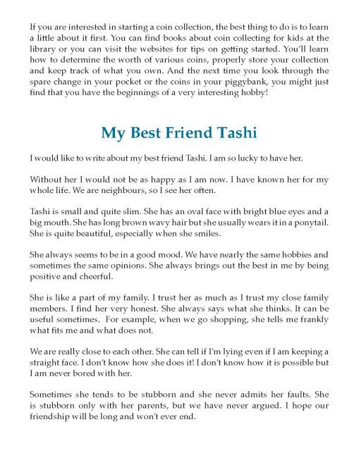 8th Grade Descriptive Essay Sample English Writing Skill On Trust