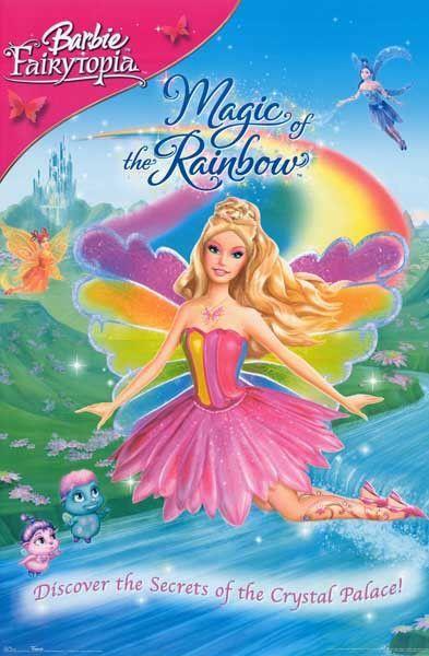 Barbie Magic of the Rainbow Movie Poster 22x28   Barbie filmes, Filmes da barbie e Filmes de ...