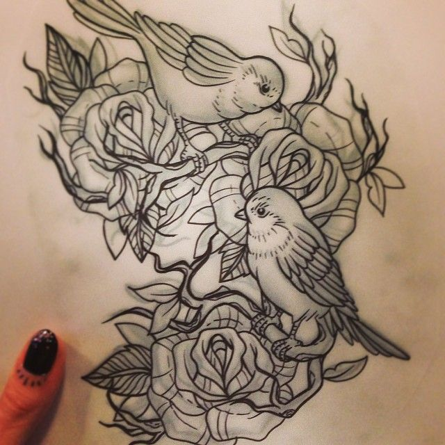 Thank You Littlebodybigheart Done At Goodlucktattoo: Done By Mayke Cuijvers, Tattooist At Lady Luck Tattoo