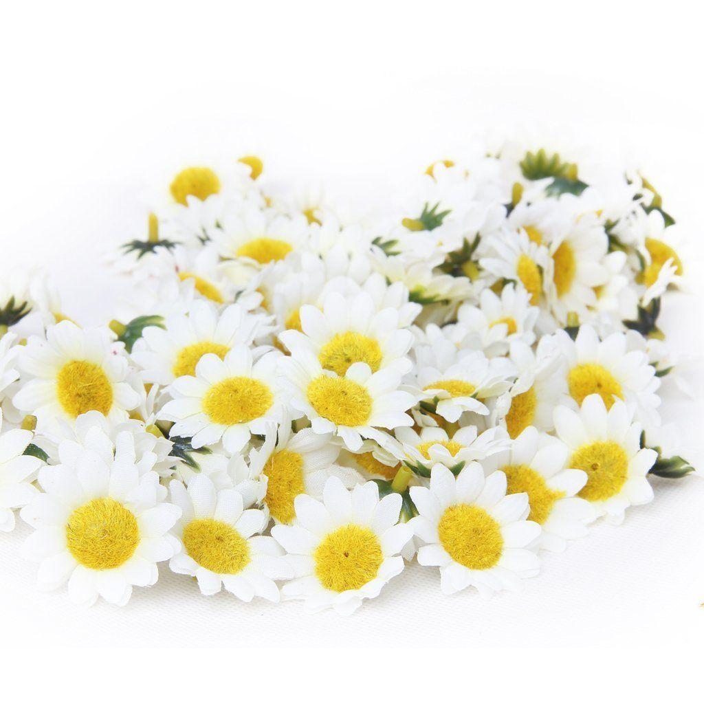 Amazon Generic 100x Artificial Gerbera Daisy Flowers Heads For