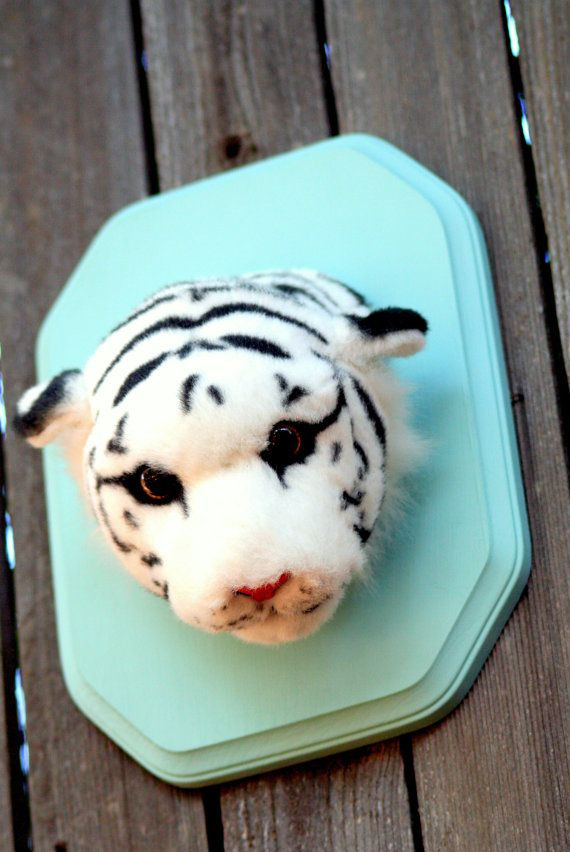 make your own trophy from an old stuffed animal