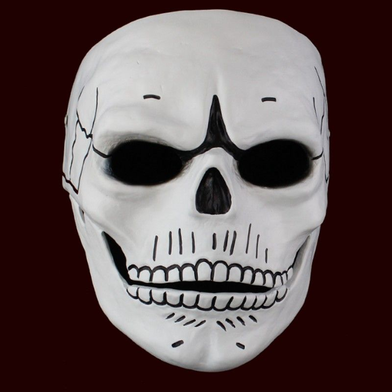 Movie 007 JAMES BOND Spectre Mask Skull Skeleton Scary Halloween Carnival Cosplay Costume Masquerade Ghost Party Resin Masks-in Party Masks from Home & Garden on Aliexpress.com | Alibaba Group