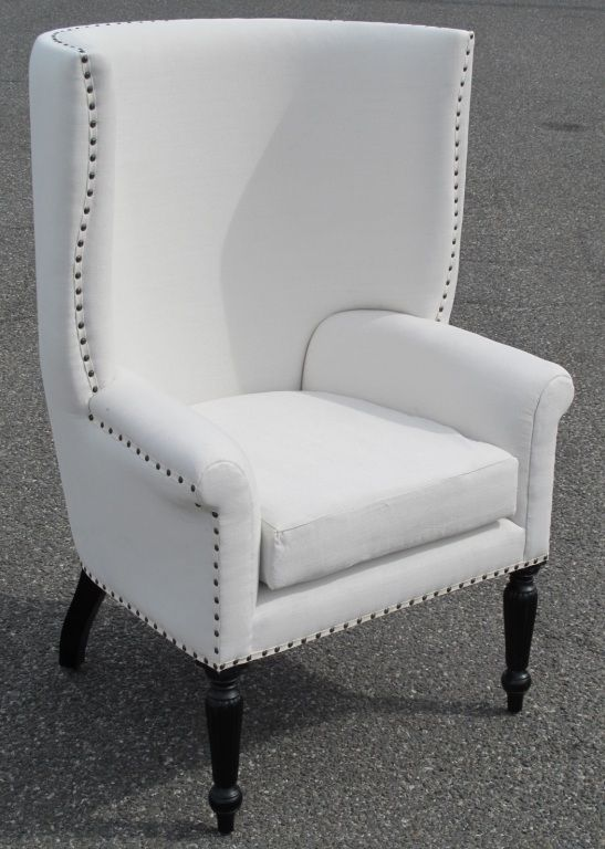 Upholstered Wing Chair 1stdibs Com Modern Wingback Chairs Chair Wing Chair