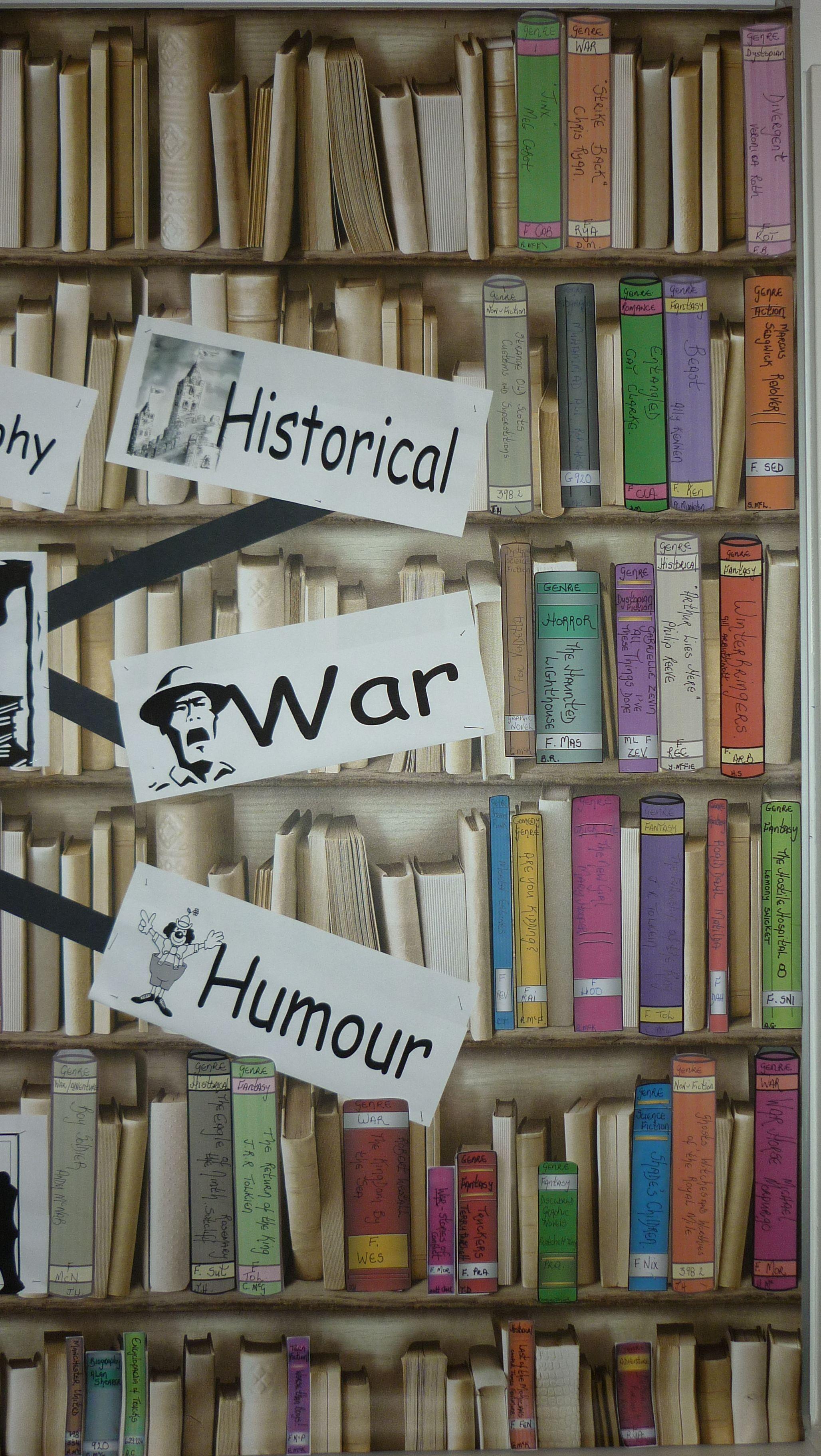 Library Display Genres