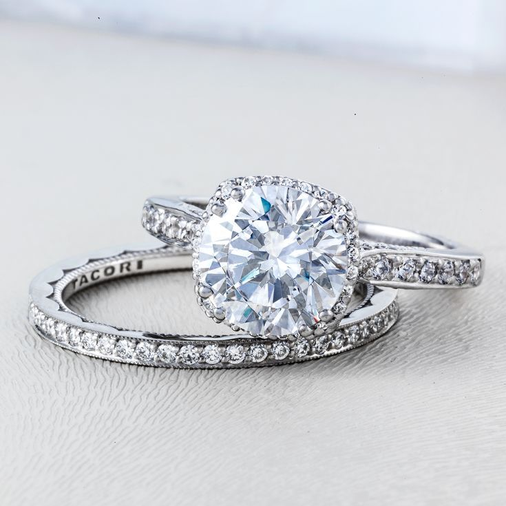 Say hello to our most popular engagement ring Handcrafted in our