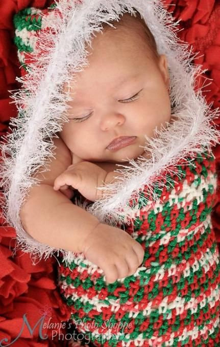 44+ Ideas For Crochet Christmas Bunting Baby Cocoon #crochet #baby