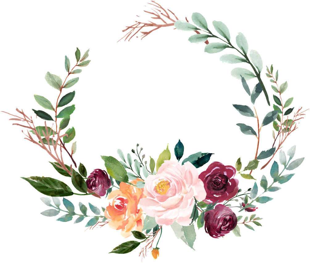 Open Full Size This Graphics Is Watercolor Garland Vector About Watercolor Wreath Green Png Floral Wreath Drawing Floral Wreath Watercolor Wreath Watercolor