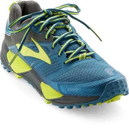 00856643e119d Brooks Women s Cascadia 12 Yosemite National Park Trail-Running Shoes  Shadow Blue 10.5