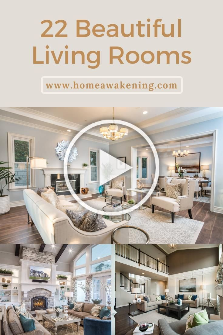 22 beautiful living rooms in photos