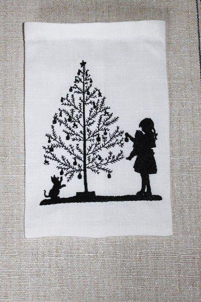 stickdatei weihnachtsbaum schm cken 2 dateien weihnachtsbaum schm cken stickdateien und. Black Bedroom Furniture Sets. Home Design Ideas