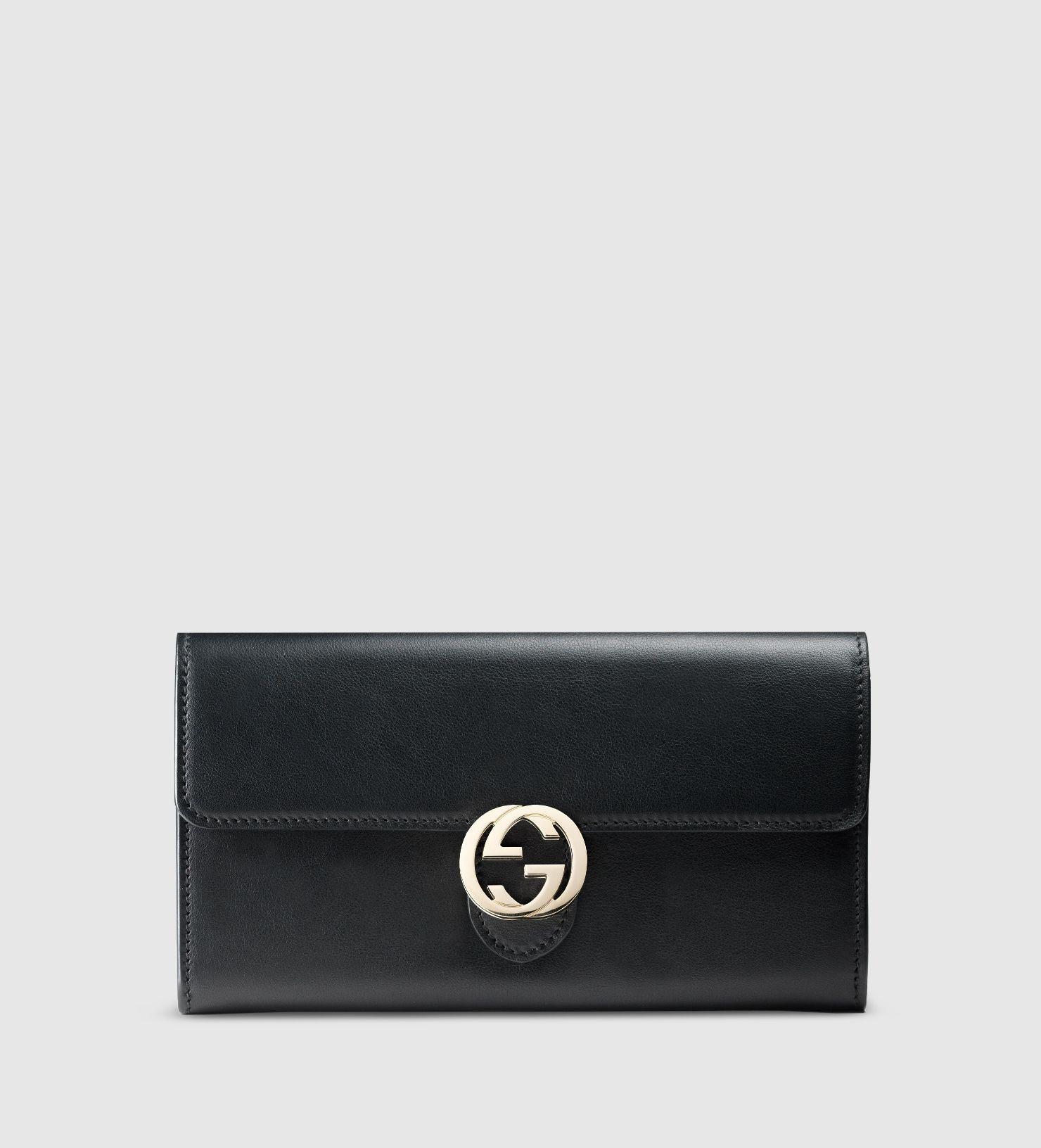 e7894b0903eb gucci icon leather continental wallet   The look!   Gucci, Gucci ...