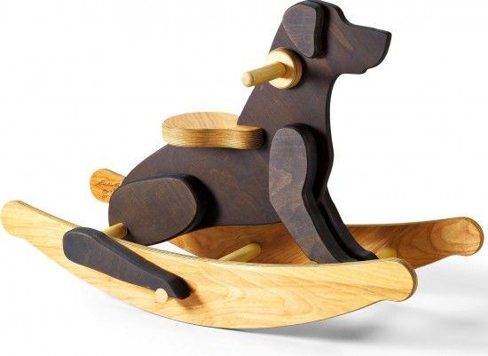 Phenomenal Wooden Dog Bed Patterns Rocking Dog Eddie Bauer Kids Squirreltailoven Fun Painted Chair Ideas Images Squirreltailovenorg