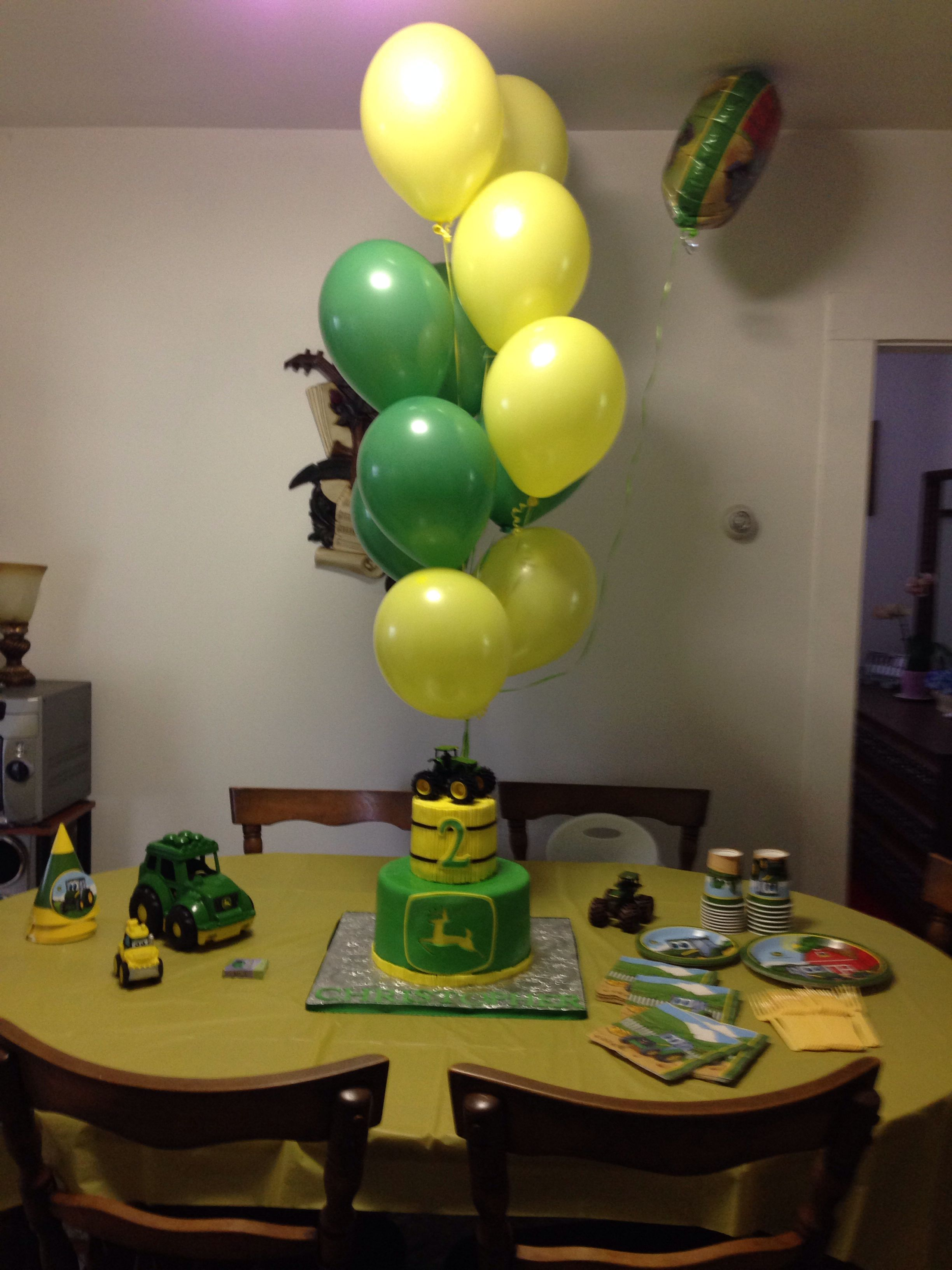 John Deer Birthday Party Jordans 3rd Birthday Pinterest Birthdays