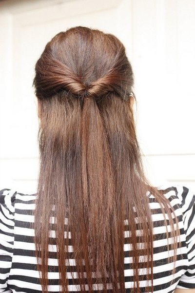 14 Simple And Easy Hairstyles For School Pretty Designs Long Hair Styles Medium Hair Styles Easy Hairstyles