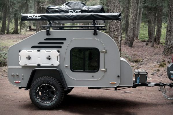 Small Camper Trailers For Awesome | キャンピングカー | Pinterest