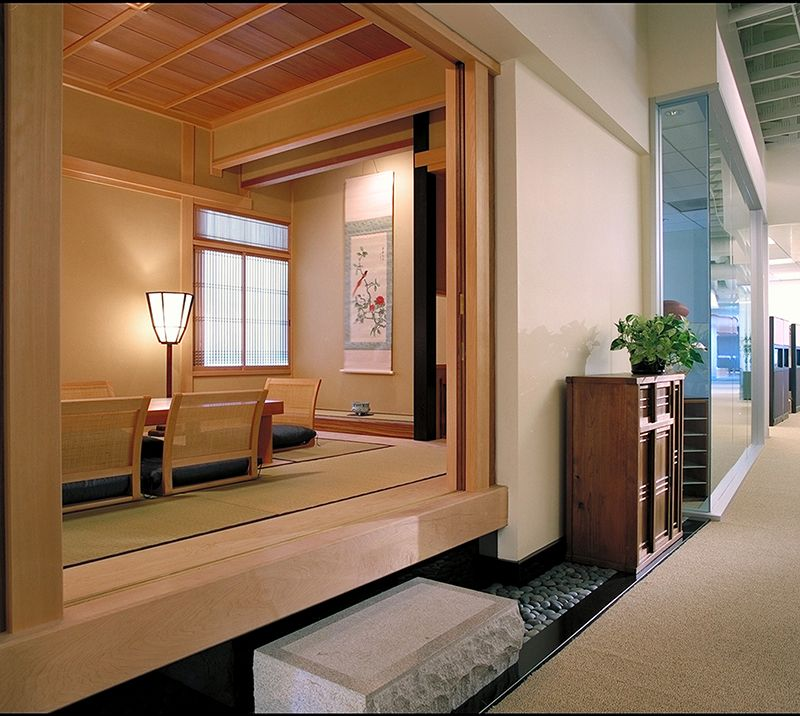 japanese interiors designed and constructed by ki arts have an