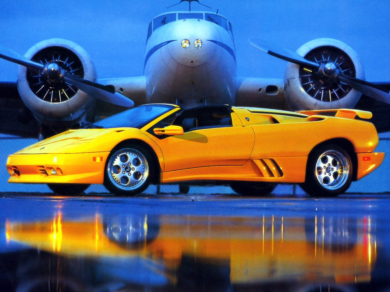 Delicieux Lamborghini Diablo Roadster