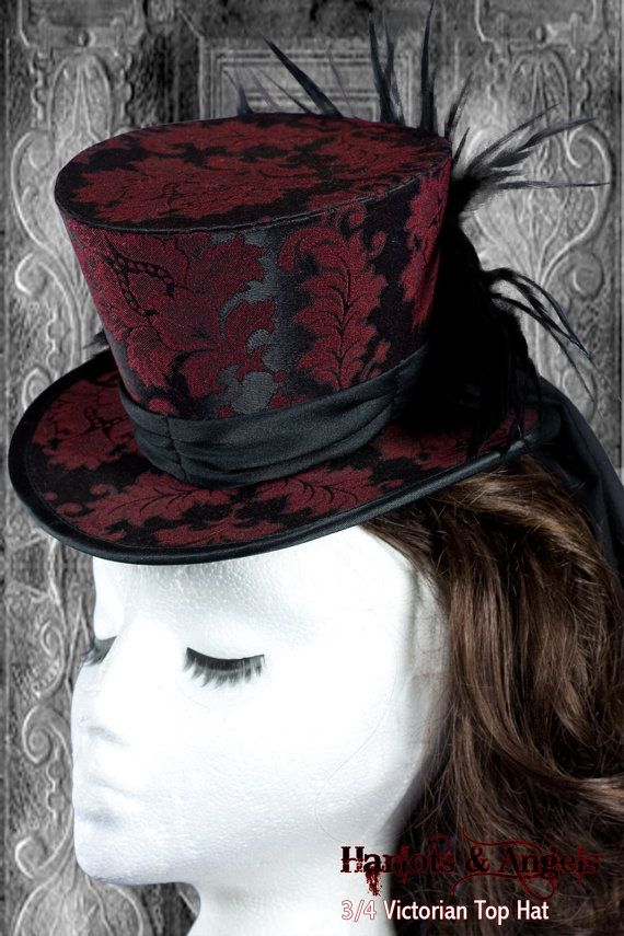 Victorian Steampunk Top Hat Millinery PDF Sewing Pattern. Prints on ...