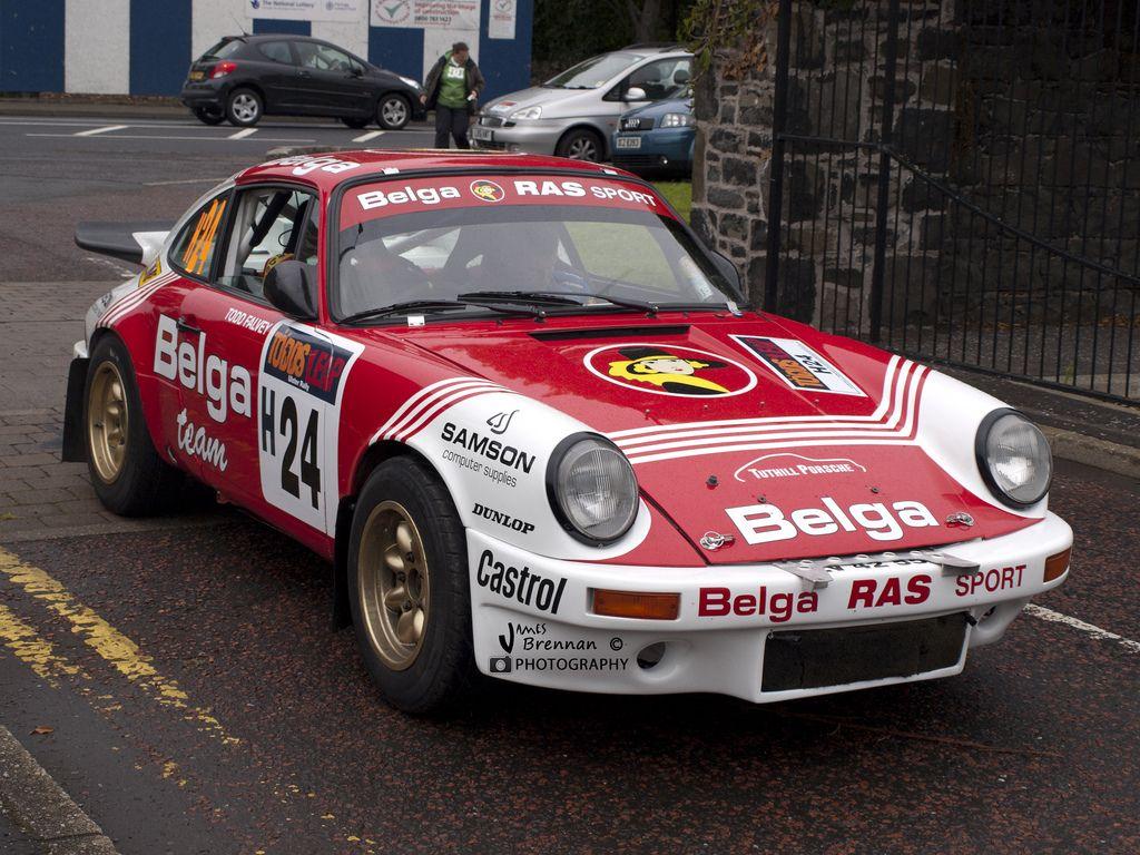 Porsche 911 Rally Belga Historic Sc Competition