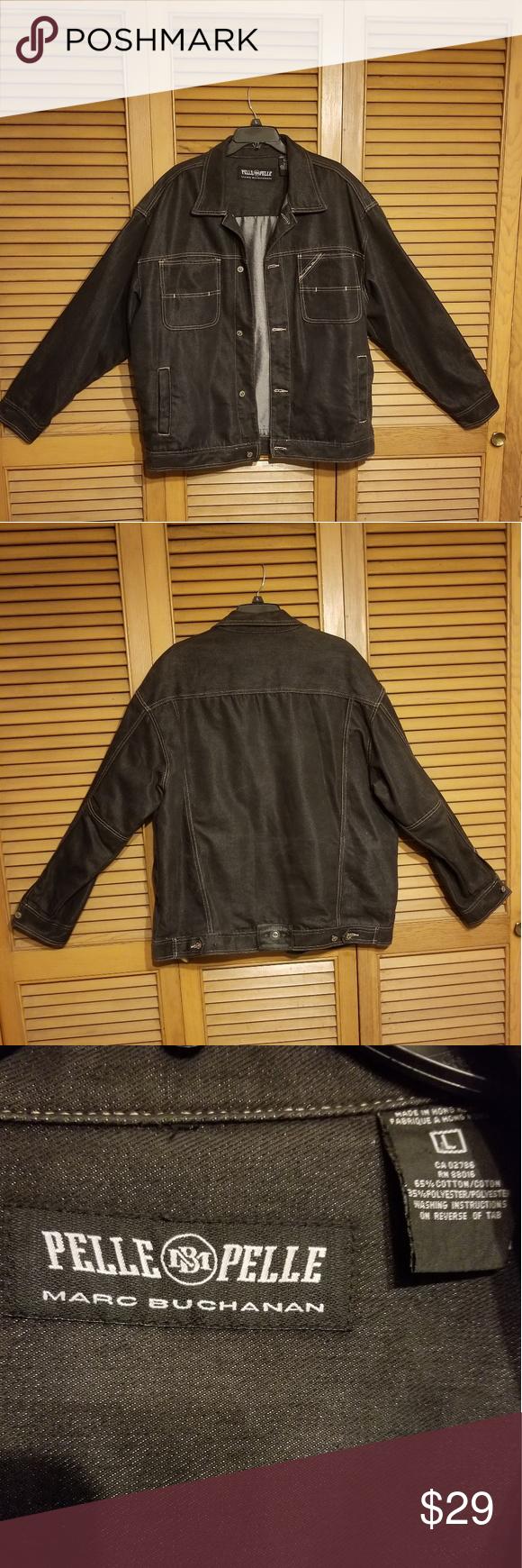 Marc Buchanan Pelle Pelle Jean Jacket Clothes Design Jackets Jean Jacket [ 1740 x 580 Pixel ]