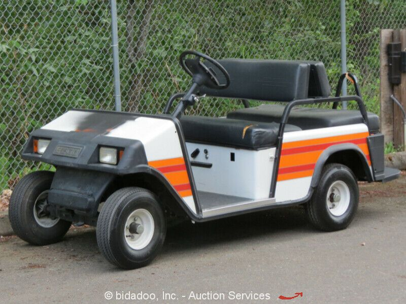Sponsored Ebay Ez Go Textron Pc4xi Industrial Utility Golf Cart Scooter 36v Charge Industrial Utility Carts Heavy Equipment Industrial
