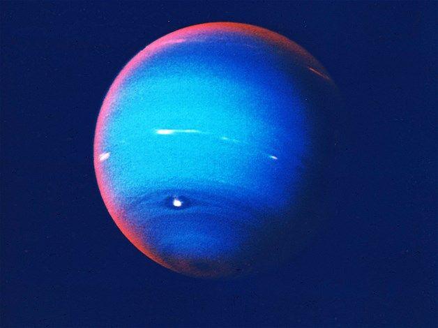 Neptuno azul metano (© Hulton Archive/Getty Images) es el ...