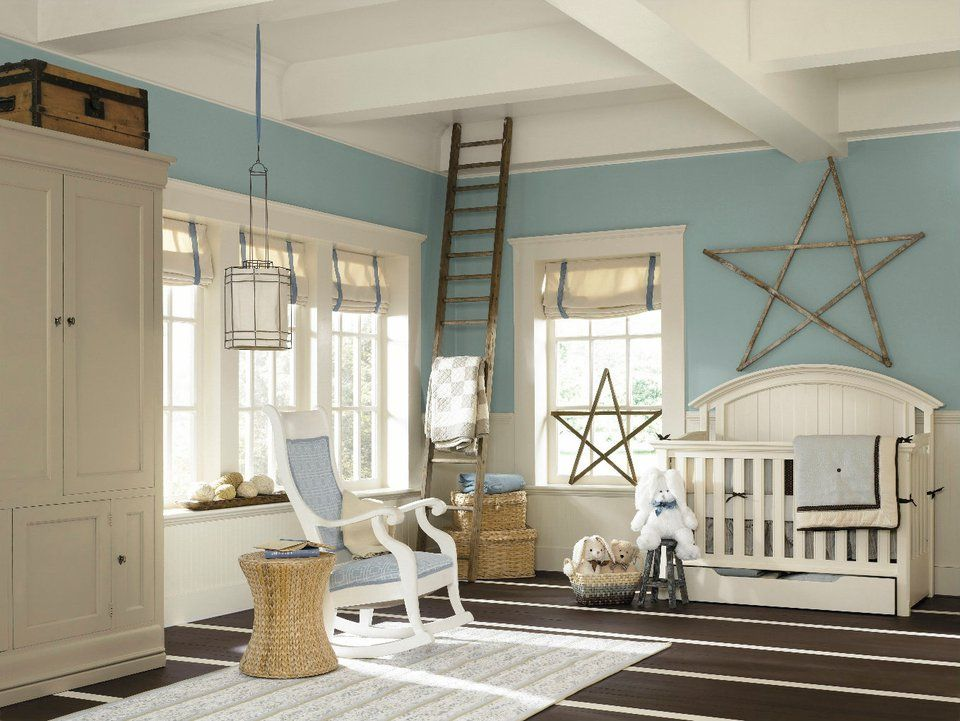 Get That Room Ready For Baby Dutch Tile Blue Sw 0031
