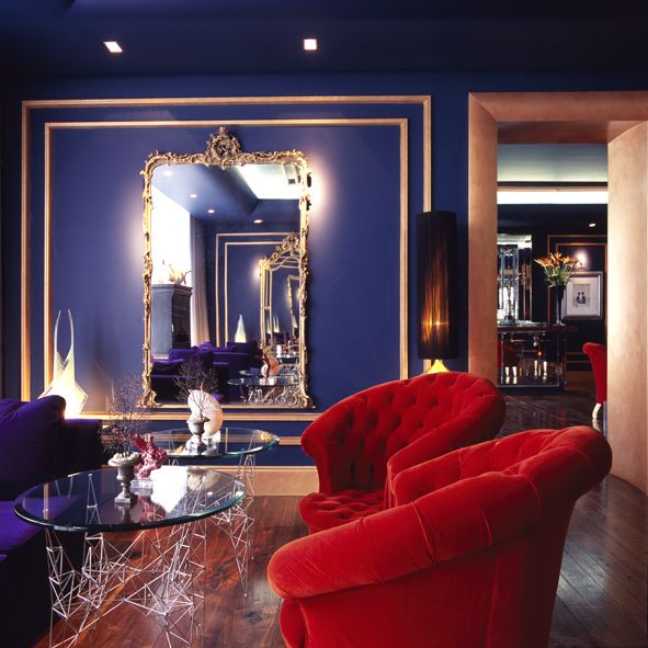 The Gentleman\'s Lounge or Blue Room at The g Hotel, Galway ...