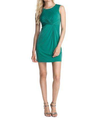 Esprit Collection Vestido tubo (Verde)