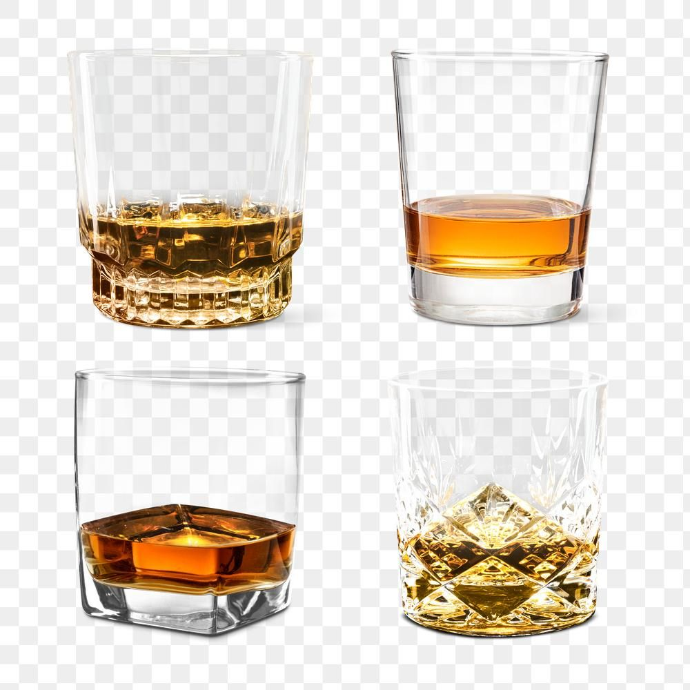 Png Whisky Neat In Glasses Set Free Image By Rawpixel Com George Alcoholic Drinks Whisky Whiskey Bar