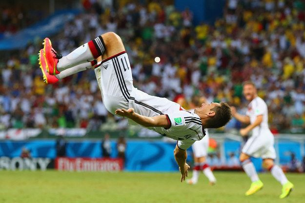 This Goal Celebration Nearly Ended In Disaster For Germany World Cup Germany Vs Fifa World Cup